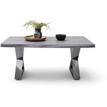 MCA furniture Cartagena Couchtisch grau antik gewischt X-Bein 110 x 45 x 70 cm