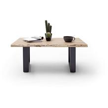 MCA furniture Cartagena Couchtisch natur anthrazit lackiert U-Beine 110 x 45 x 70 cm
