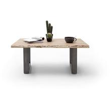 MCA furniture Cartagena Couchtisch natur antik gewischt U-Beine 110 x 45 x 70 cm