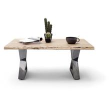 MCA furniture Cartagena Couchtisch natur antik gewischt X-Beine 110 x 45 x 70 cm