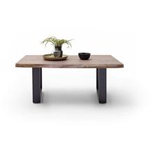 MCA furniture Cartagena Couchtisch walnuss anthrazit lackiert U-Beine 110 x 45 x 70 cm