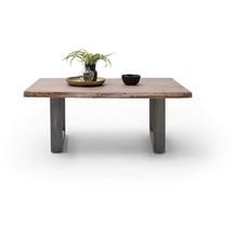 MCA furniture Cartagena Couchtisch walnuss antik gewischt U-Beine 110 x 45 x 70 cm
