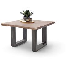 MCA furniture Cartagena Couchtisch walnuss antik gewischt U-Beine 75 x 45 x 75 cm