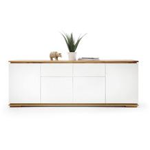 MCA furniture Chiaro Sideboard weiß matt 2 Schubkästen 182 x 81 x 40 cm