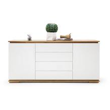 MCA furniture Chiaro Sideboard weiß matt 4 Schubkästen 172 x 81 x 40 cm