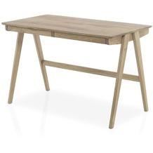 MCA furniture Delia Schreibtisch mit 2 Schubkästen, Asteiche
