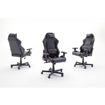 MCA furniture DX RACER Bürostuhl in schwarz