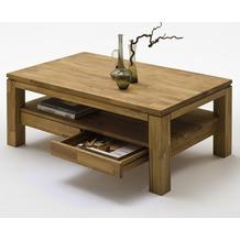 MCA furniture Gordon Couchtisch mit 2 Schubkasten, Asteiche