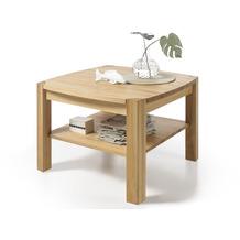 MCA furniture Kalipso Couchtisch Massivholz Asteiche  83 x 55 x 83 cm