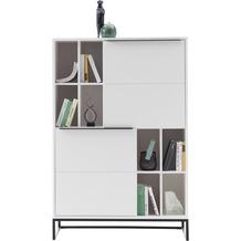 MCA furniture Lille Highboard weiß 100 x 149 x 40 cm
