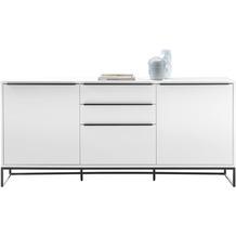 MCA furniture Lille Sideboard weiß 3 Schubkästen 184 x 85 x 40 cm