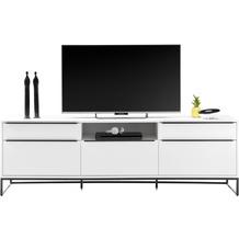 MCA furniture Lille Sideboard weiß 5 Schubkästen 215 x 69 x 40 cm