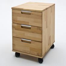 MCA furniture Masimo Rollcontainer, Kernbuche