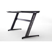 MCA furniture mcRACING Gaming Schreibtisch schwarz Basic 2 120 x 73 x 60 cm