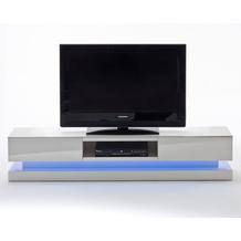 MCA furniture Step TV-Lowboard mit 2 Schubkästen und RGB LED-Beleuchtung