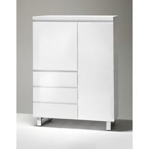 MCA furniture Sydney Kommode mit 2 Türen und 3 Schubkästen, weiß