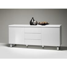 MCA furniture Sydney Sideboard mit 2 Türen und 3 Schubkästen, weiß