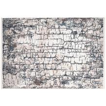 me gusta Teppich Akropolis 125 Grau / Blau 120 x 180 cm