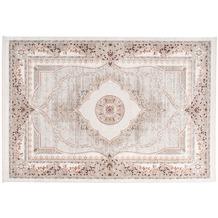 me gusta Teppich Akropolis 525 Grau / Lachsrosa 120 x 180 cm