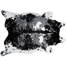 me gusta Teppich Desert 225 Schwarz / Weiß 160 x 230 cm