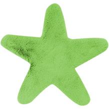me gusta Kinderteppich Lovely Kids 1025-Star Grün 60 x 63 cm