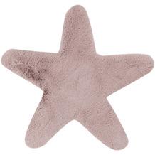 me gusta Kinderteppich Lovely Kids 1025-Star Rosa 60 x 63 cm