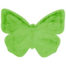me gusta Kinderteppich Lovely Kids 1125-Butterfly Grün 70 x 90 cm
