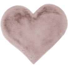me gusta Kinderteppich Lovely Kids 1225-Heart Rosa 60 x 70 cm