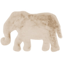 me gusta Kinderteppich Lovely Kids 125-Elephant Creme 60 x 90 cm