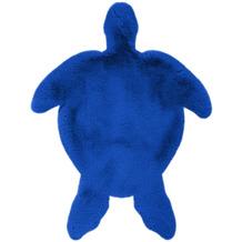 me gusta Kinderteppich Lovely Kids 1325-Turtle Blau 68 x 90 cm