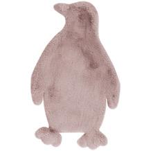 me gusta Kinderteppich Lovely Kids 525-Penguin Rosa 52 x 90 cm