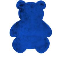 me gusta Kinderteppich Lovely Kids 825-Teddy Blau 73 x 90 cm