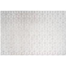 me gusta Teppich Vivica 125 Weiß / Rosé 120 x 160 cm