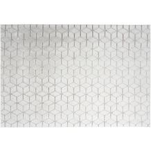 me gusta Teppich Vivica 125 Weiß / Taupe 120 x 160 cm