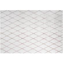 me gusta Teppich Vivica 225 Weiß / Rosé 160 x 230 cm