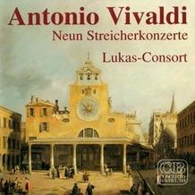 Media Arte Antonio Vivaldi,Neun Streicherkonzerte,Lukas-Con, CD