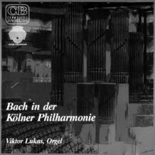 Media Arte Bach in der Kölner Philharmonie, CD