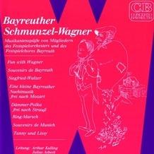 Media Arte Bayreuther Schmunzel-Wagner, CD