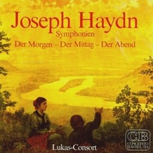 Media Arte Joseph Haydn-Der Morgen-Der Mittag-Der Abend, CD
