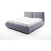 meise möbel Polsterbett Atesio inkl. Bettkasten, inkl. Matratze Blau Härtegrad H2 Bari 7-Zonen-TTFK Matratze 180x200 cm