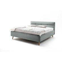 meise möbel Polsterbett Lotte Eisblau 160x200 cm