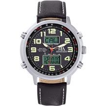 Meister Anker Uhr Edelstahl grau 8541