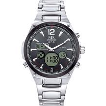 Meister Anker Uhr Edelstahl grau 8519