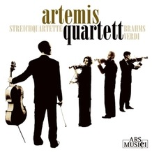 Membran Media Brahms/Verdi: Streichquartette, CD