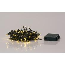 merxx 40er LED Lichterkette, mit Timmer, 4x AA Batterie
