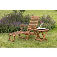 merxx Deckchair Set 2tlg., Liege inkl. Deckchair