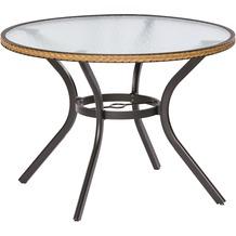 merxx Ravenna Tisch, rund, Ø 100 cm, Natur