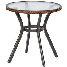 merxx Ravenna Tisch, Ø 70 cm, Schoko Gartentisch