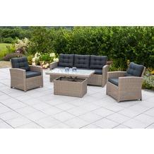merxx Salzano Lounge Set Gartenmöbelset
