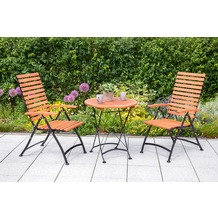 merxx Schlossgarten Set 3tlg., 5 Pos & runder Tisch